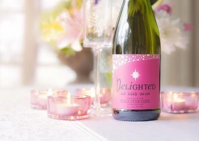 Mini Champagne Bottle