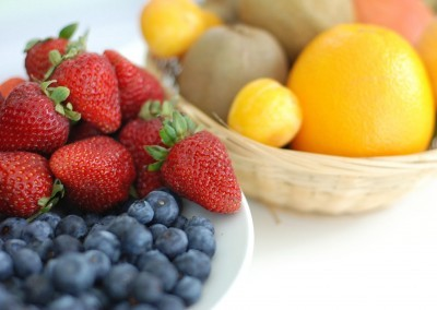 Healthy Mini Fruit Basket