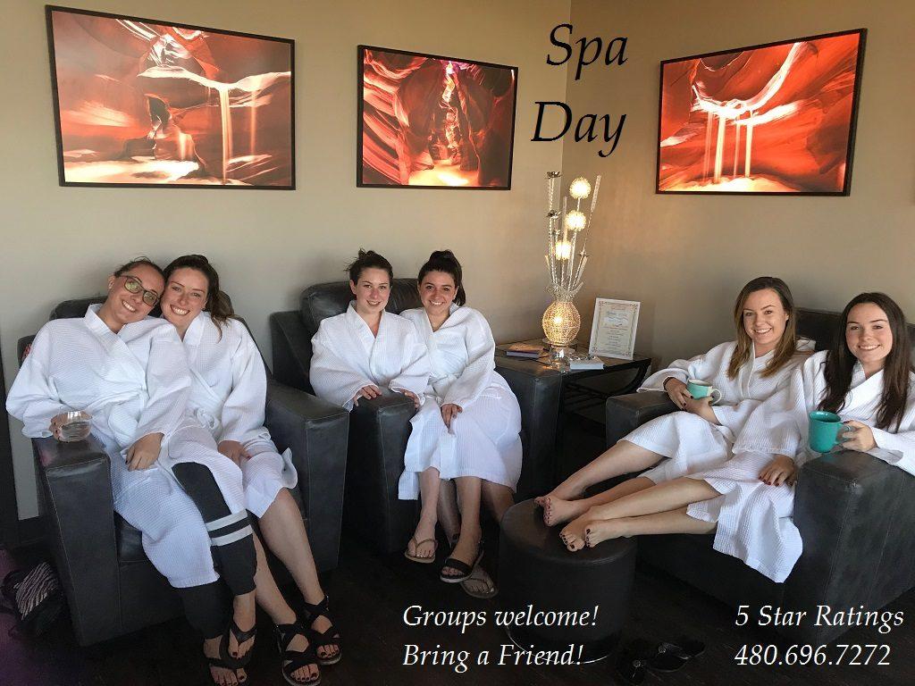 Bachelorette Party | Bachelorette Spa Deals | Inspire Spa | Scottsdale, AZ